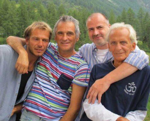 008 Riccardo, Carlos, Roby, Gualtiero, Zinal