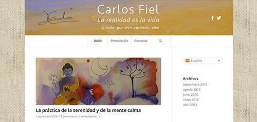Blog Carlos Fiel - Director Pedagogico Escuela Yoga Sadhana